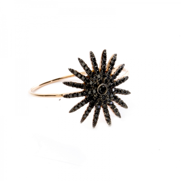 Bague BLACKSUN-BG-N Diamant Noir
