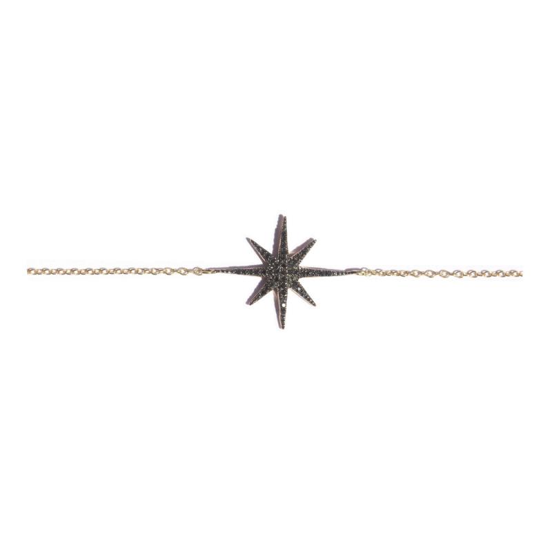 Bracelet STARDUST-BR-N Diamant Noir