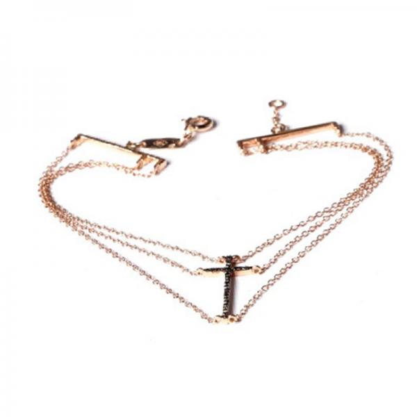 Bracelet MILOU-BRH-N Diamant Noir
