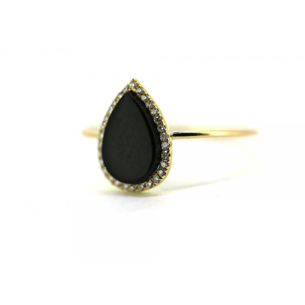 Bague FAY-BG-0-N Diamant Noir