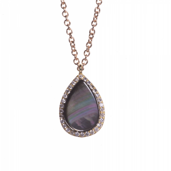 Collier FAY-CL-N-N Diamant Noir