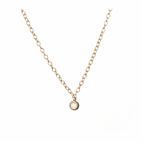Collier MIZO-1-CL Diamant Blanc