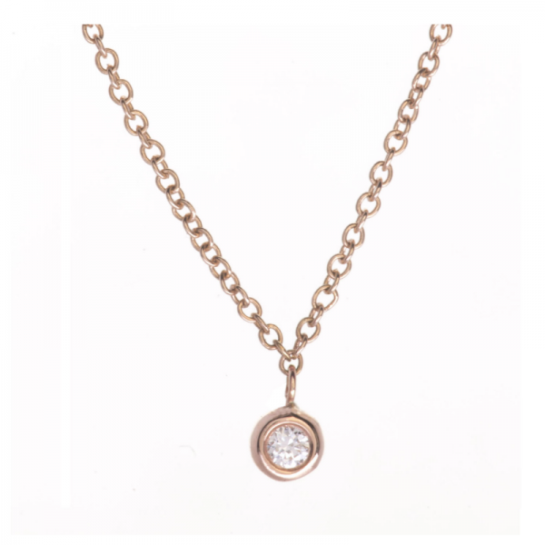 Collier MIZO3-CL Diamant Blanc