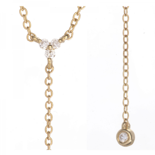 Collier KENDA-1-CLY Diamant Blanc