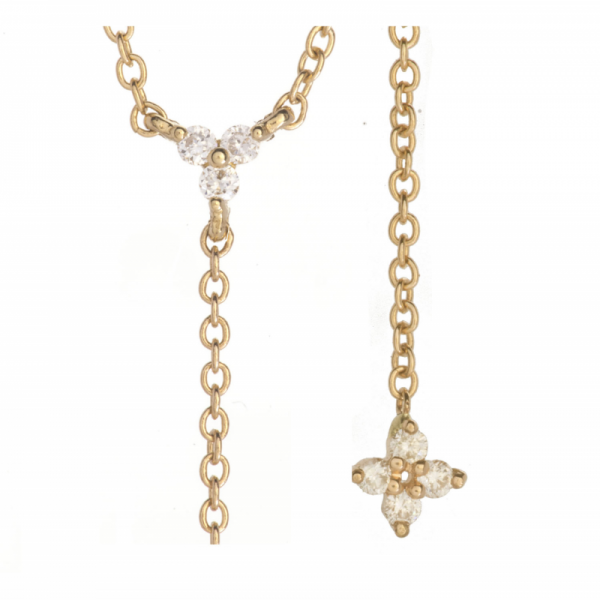 Collier KENDA-F-CLY Diamant Blanc
