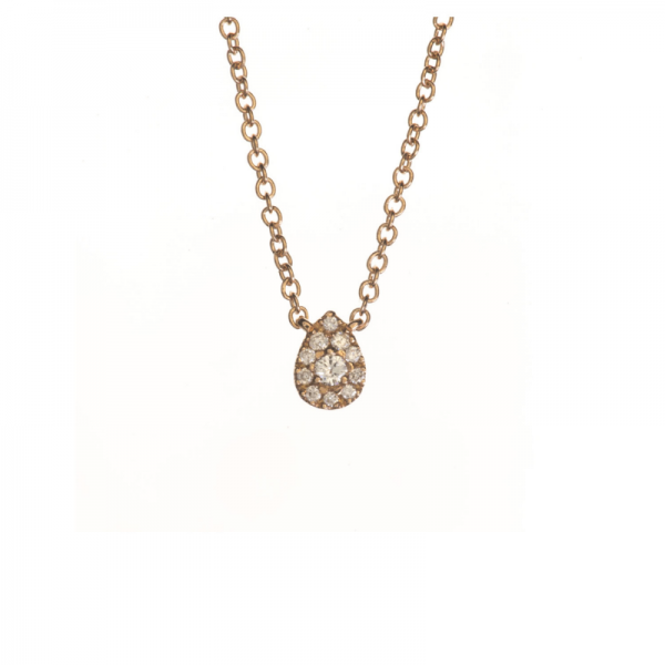 Collier KOUDA-CLT Diamant Blanc