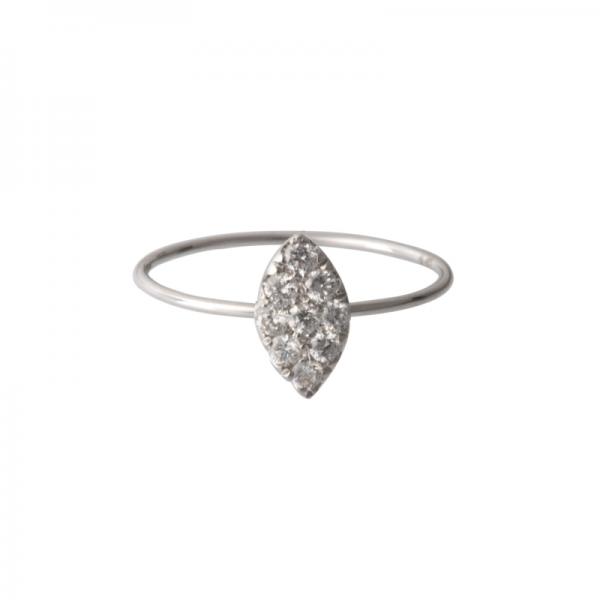 Bague KREJO-BG Diamant Blanc
