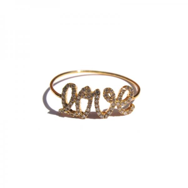 Bague LOVE-BG-N Diamant Noir