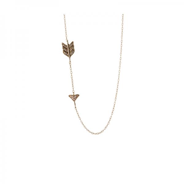 Collier MASHA-CLC-N Diamant Noir