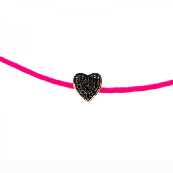 Bracelet CHERRA-BR-FIL-N Diamant Noir