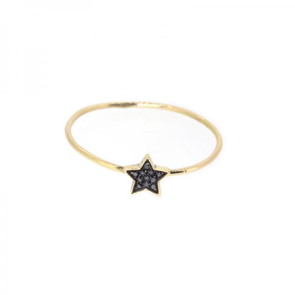 Bracelet ESPOIR-ESTELLA-BRJ-N Diamant Noir