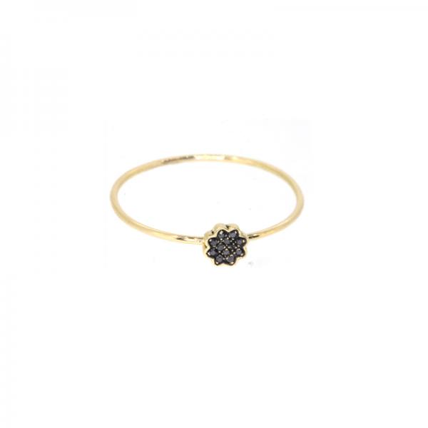 Bague JADE-BG-N Diamant Noir