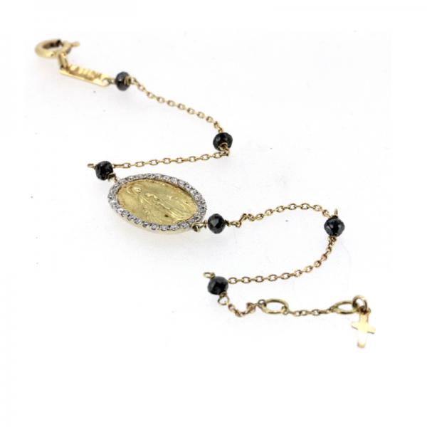Bracelet KICHI-BR-N Diamant Noir