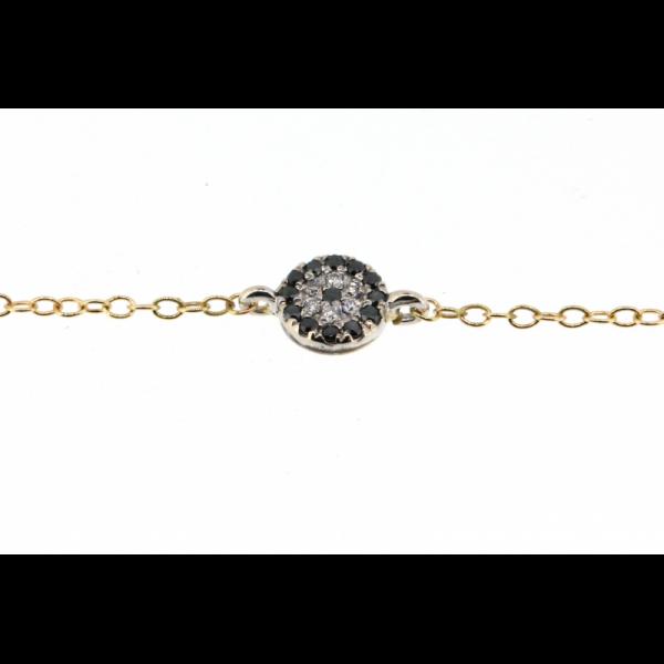 Bracelet FIVE-BR Diamant Blanc / Saphir