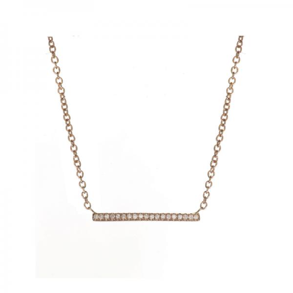 Collier ARA-CLC Diamant Blanc