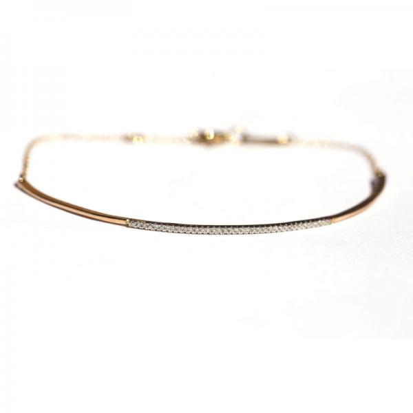 Bracelet CORVUS-BR-N Diamant Noir