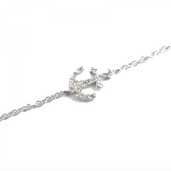 Bracelet NORTHY-BR-N Diamant Noir