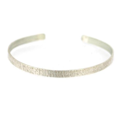 bracelet frapp argent perry de la rosa cr ateur de bijoux. Black Bedroom Furniture Sets. Home Design Ideas