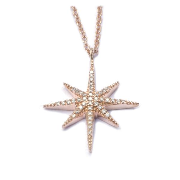 Sautoir STARDUST-CLS-N Diamant Noir