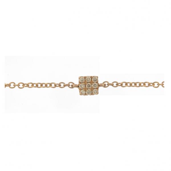 Bracelet KAMI-BR-N Diamant Noir