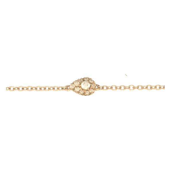 Bracelet KOUDA-BR-N Diamant Noir