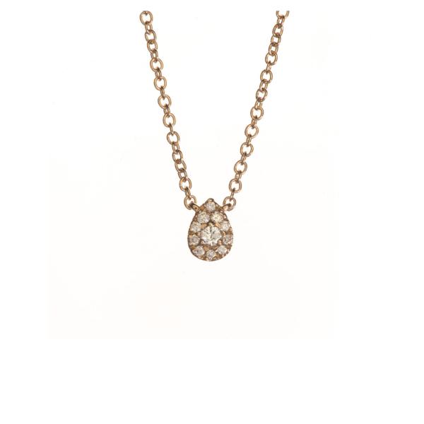 Collier KOUDA-CLT-N Diamant Noir