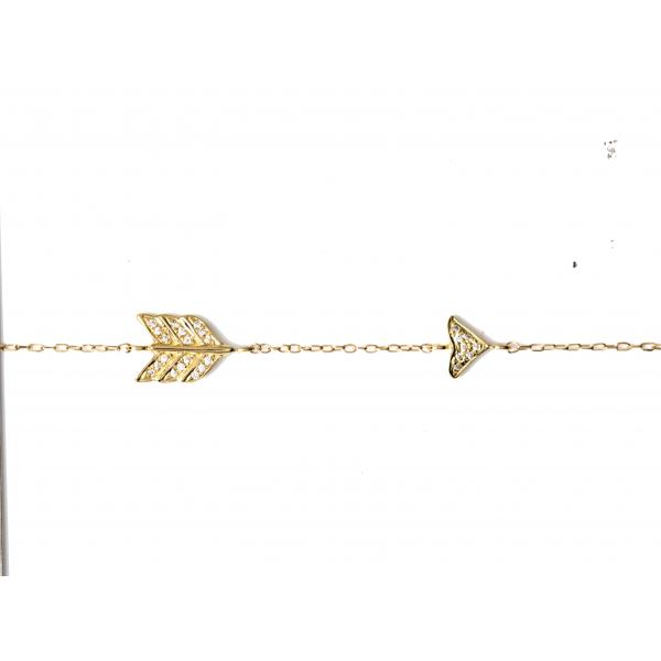 Bracelet MASHA-BR-N Diamant Noir