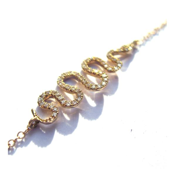 Bracelet FLESE-BR-N Diamant Noir