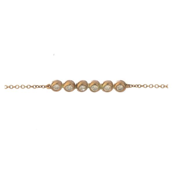 Bracelet COCO-1-BR Diamant Blanc