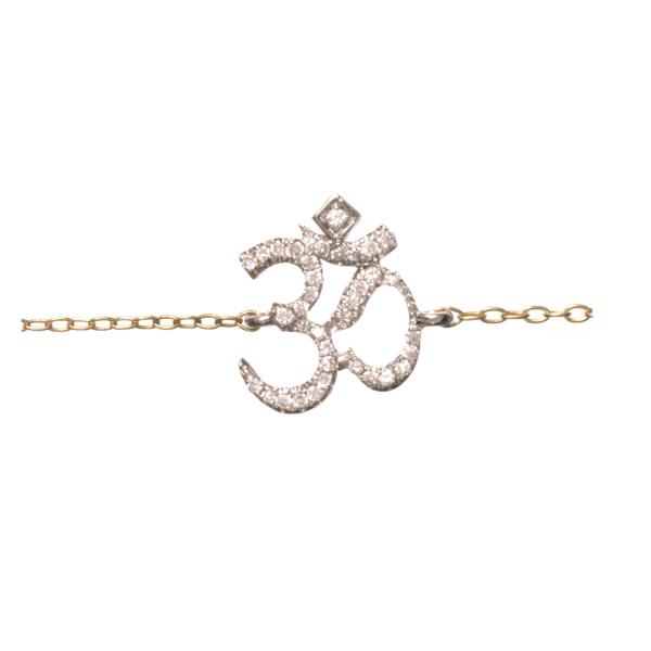 Bracelet OHM-BR-N Diamant Noir