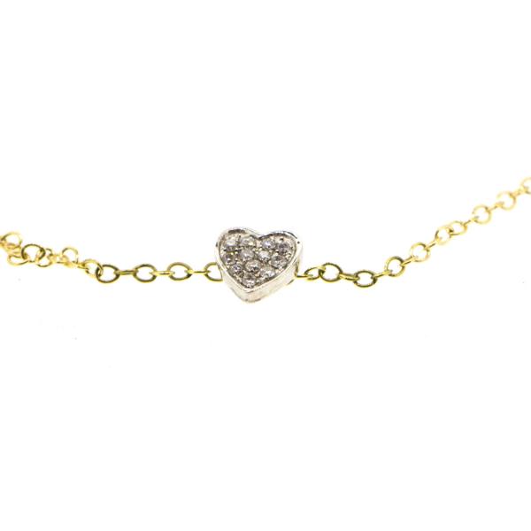 Collier CHERRA-CL Diamant Blanc