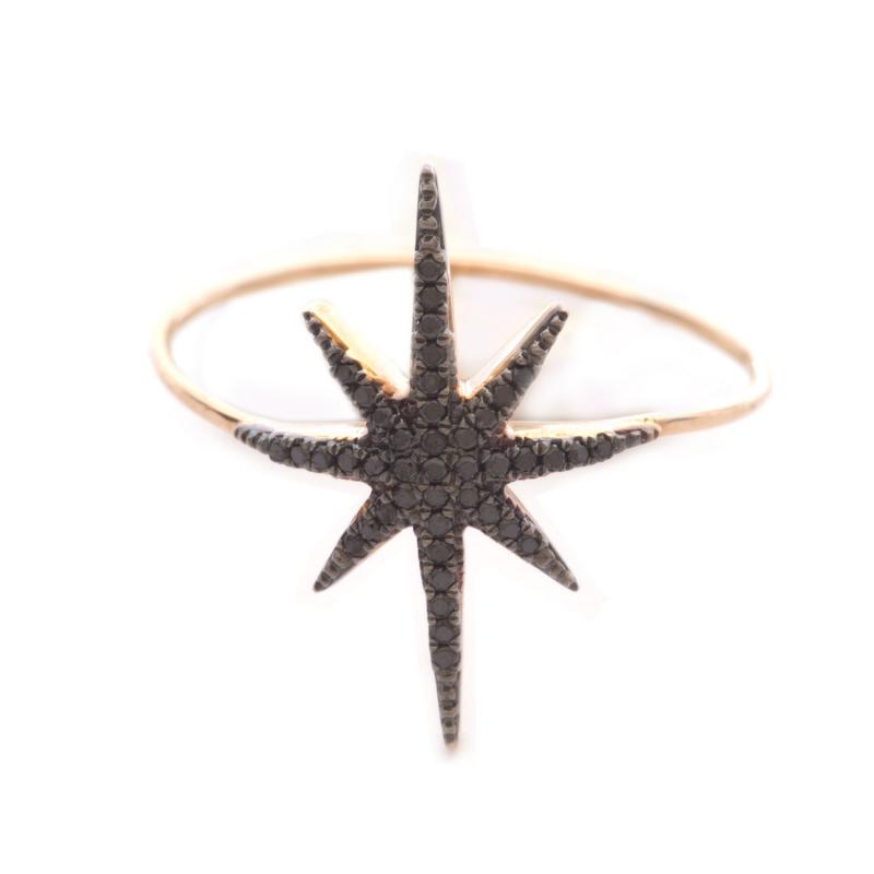 Bague STARDUST-BG-N Diamant Noir