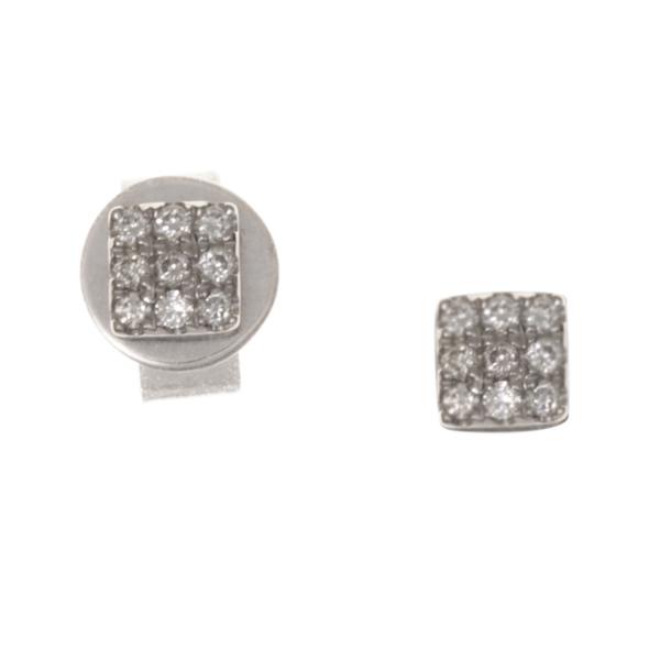 Boucles d'oreilles KAMI-BOP-N Diamant Noir